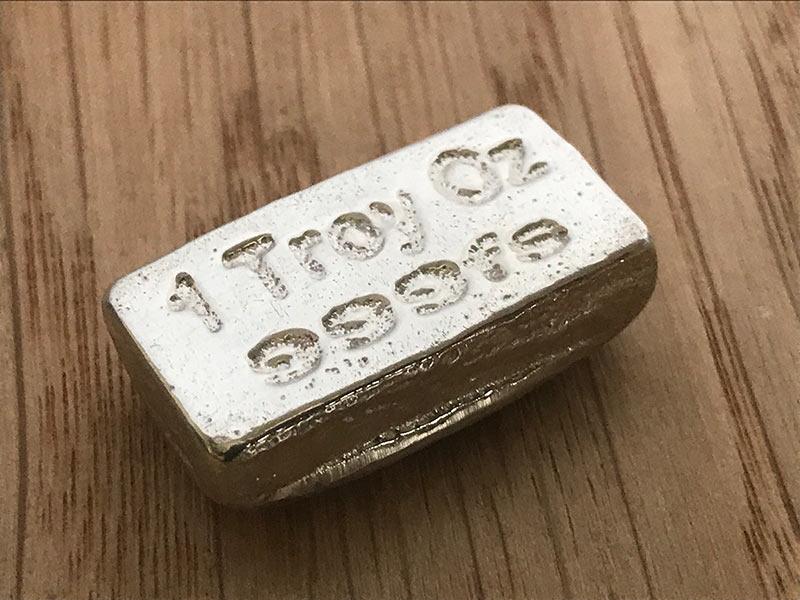 1 troy oz silver bar
