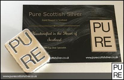 PURE 50g Silver Bar