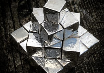 999 silver cubes