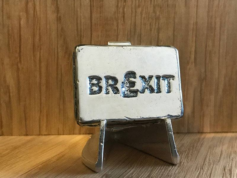 2 Ozt Silver Brexit Bullion