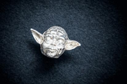 Silver Yoda - Star Wars